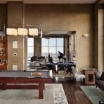 Derek Jeter's Custom Floor Installation